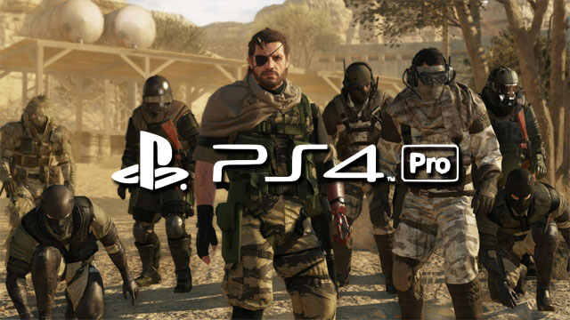 Metal Gear Solid V: The Phantom Pain gets PS4 Pro support