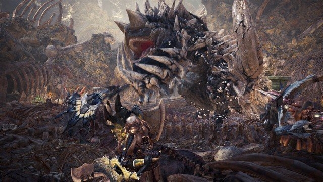 Monster Hunter World Gets Street Fighter 5 Ryu and Sakura Costumes