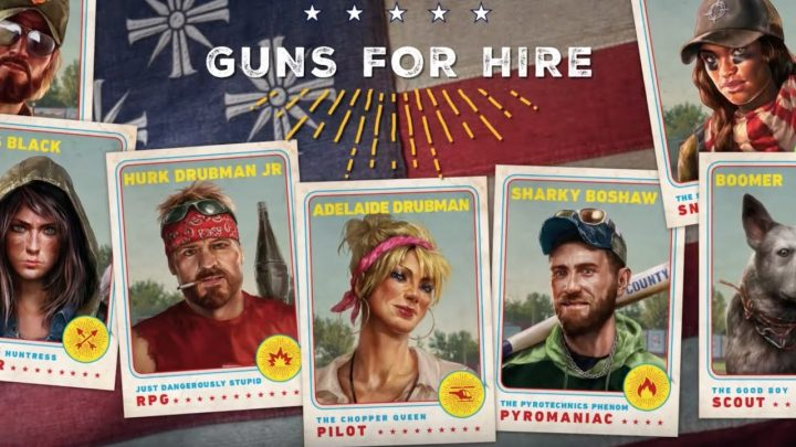 far cry 5 guns for hire