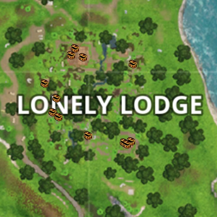 fortnite week 7 lonely lodge chests locations