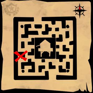 fortnite week 7 challenges treasure map