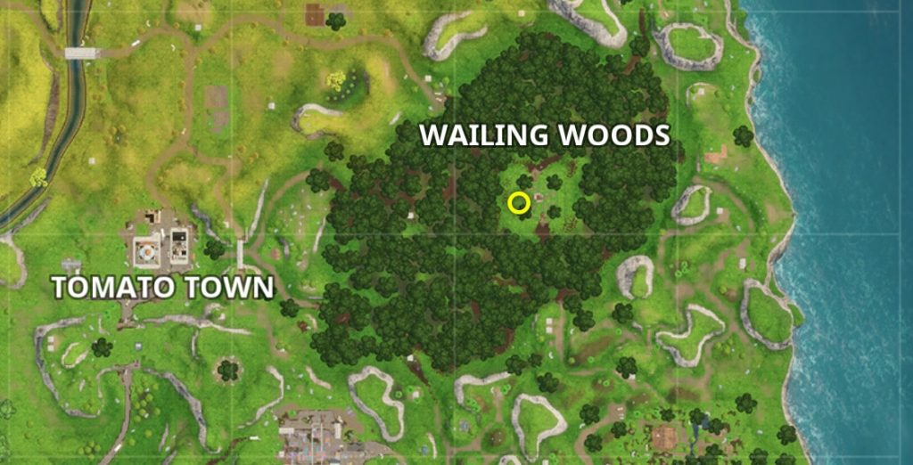 fortnite 7 challenge treasure map