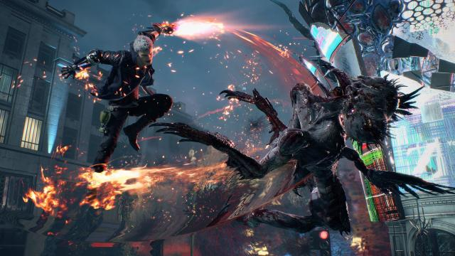 Devil May Cry 5: How To Change Costumes, And Unlock Infinite Devil Trigger