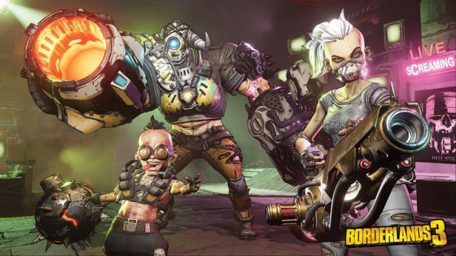 borderlands 3 looting