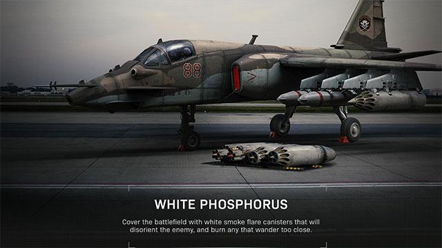 modern warfare killstreak white phosphorus