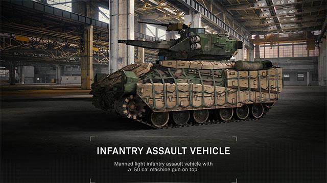 modern warfare killstreak assault vehicle