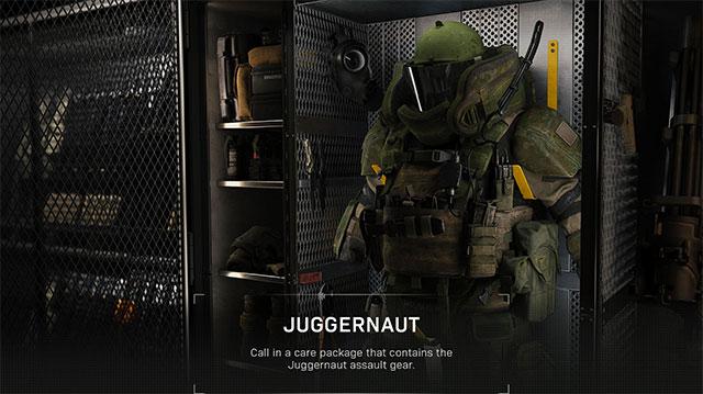modern warfare killstreak juggernaut