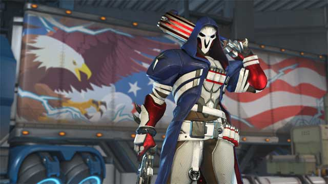 overwatch summer games 2019 skins reaper