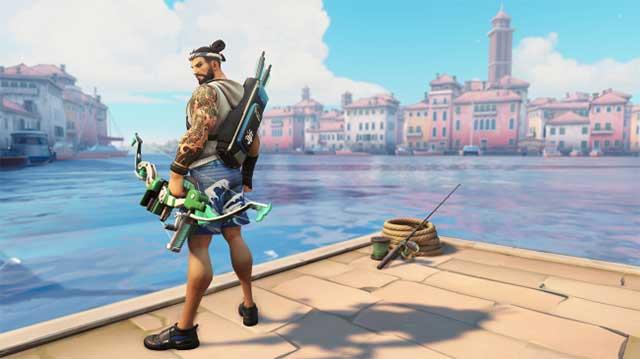 overwatch summer games 2019 skins hanzo
