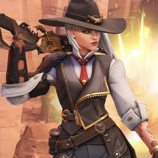 ashe overwatch ultimate voice line