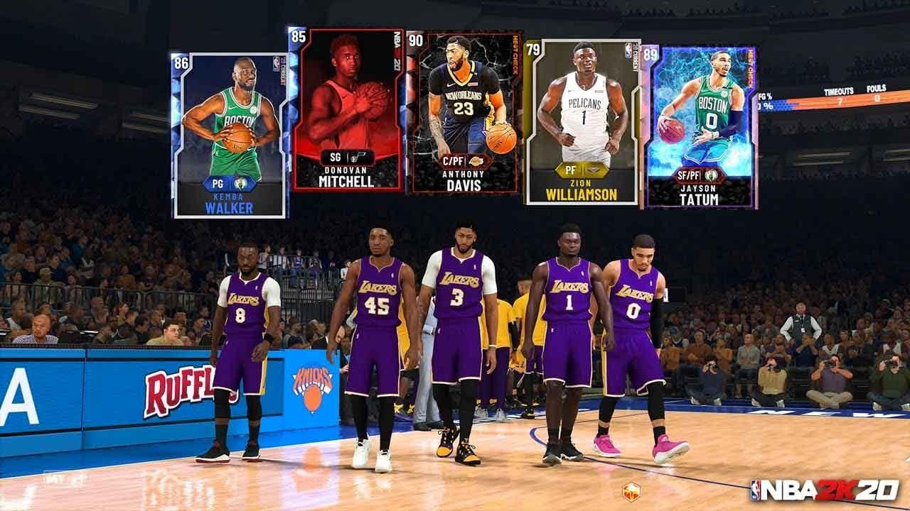 NBA 2K20 MyTeam Cards, Rewards, And More Revealed