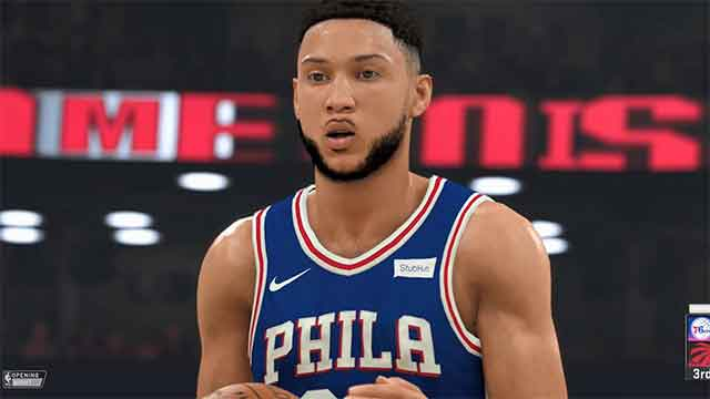 nba 2k20 ben simmons rating