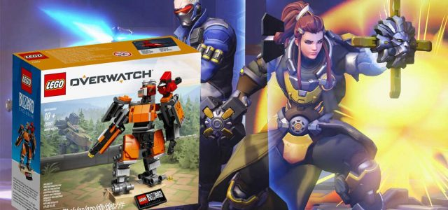 WIN! LEGO Overwatch Omnic Bastion