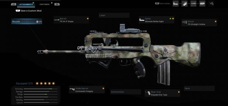 Modern Warfare FR 5.56 Attachments Guide: How To Build The Best One-Shot AR In The Game