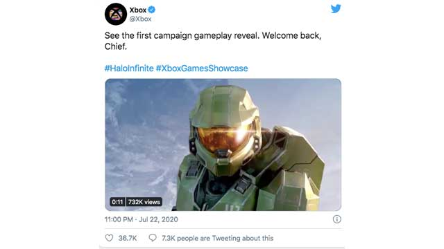 halo infinite game reveal time