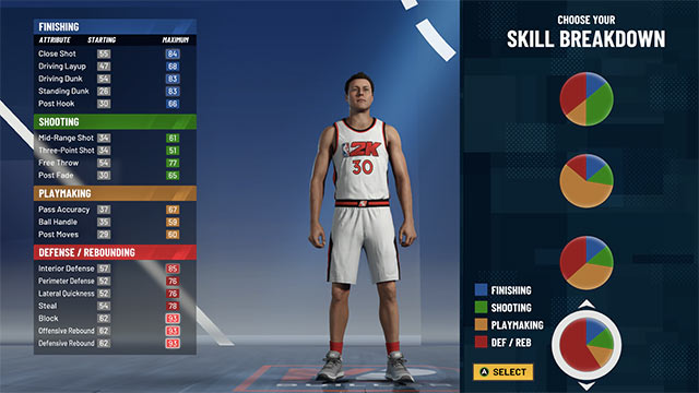nba 2k21 best builds pf