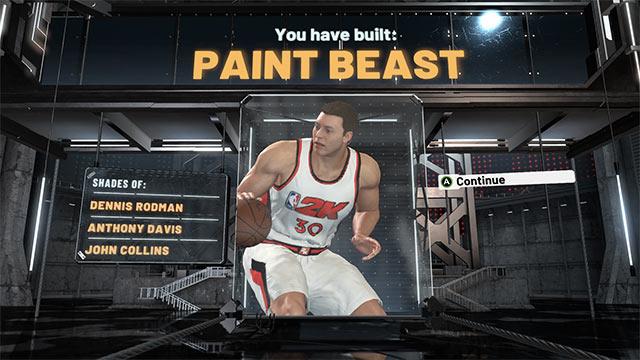 nba 2k21 best builds pf