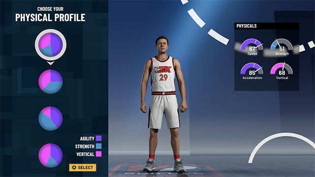 nba 2k21 best build sf