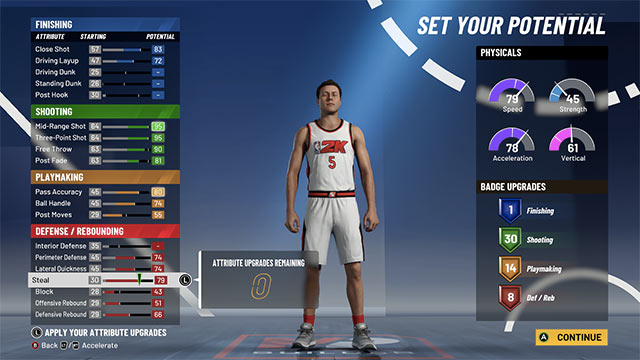 nba 2k21 best builds shooting guard