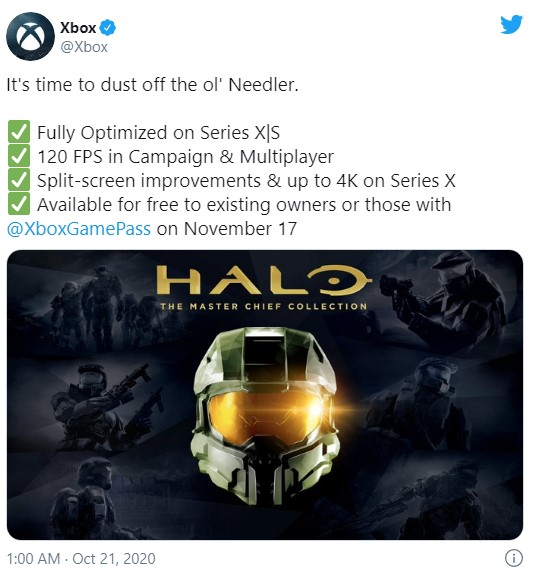 xbox series x master chief collection