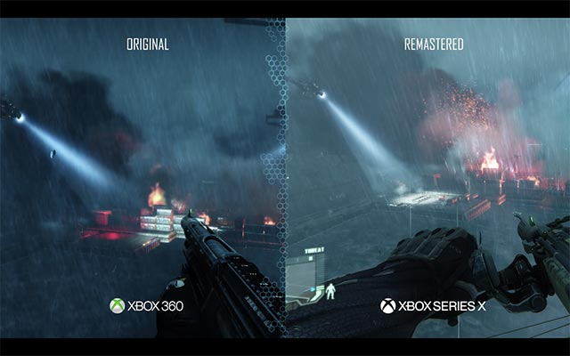 crysis remastered trilogy comparison