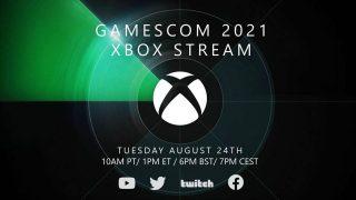 xbox gamescom 2021 times