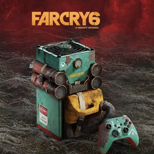 xbox series x far cry 6 edition